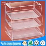 Acrylic bread box display