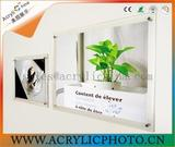 The metope of acrylic photo frame