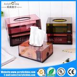 Translucent tissue box