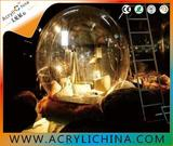 High translucent acrylic large plastic hemisphere domes